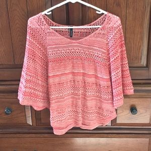 Maurices Mesh Top